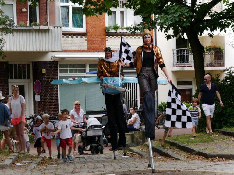 Bilder vom Kinderfest auf dem Schinkelplatz
