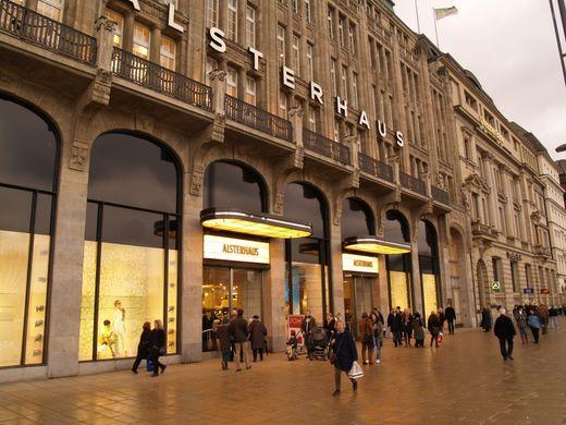 Einkaufspassagen und Kaufhäuser in Hamburg – Fotogalerie 2008