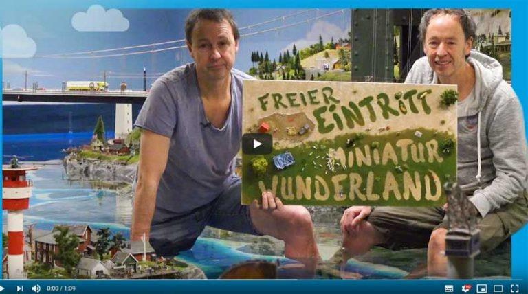 Auch 2020: Freier Eintritt ins Miniaturwunderland Hamburg